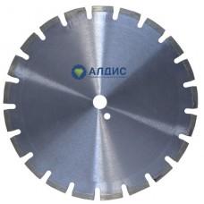 Алмазный диск 350 мм по асфальту (лазерная наварка сегментов)